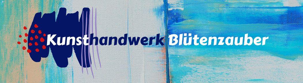Kunsthandwerk Blütenzauber-Logo